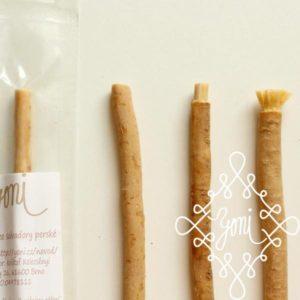 Přírodní kartáček na zuby YONI oganický - výhodné balení 5ks