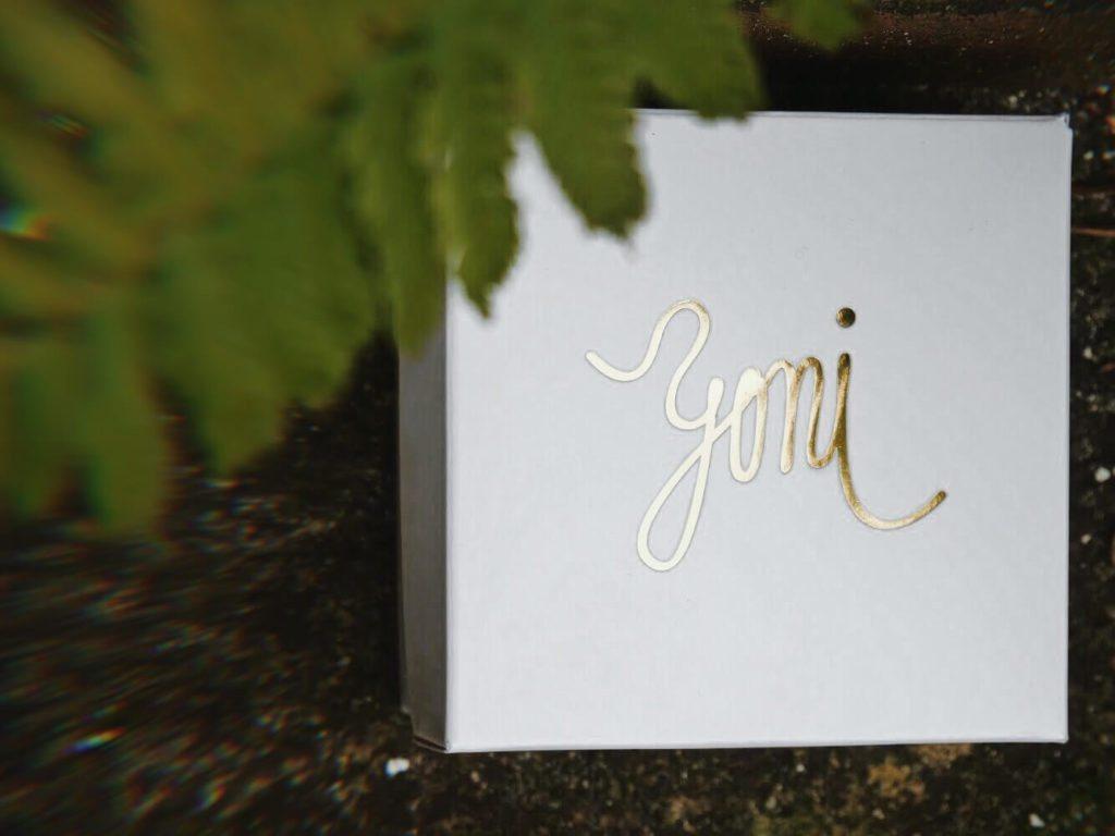 Designová dárková krabička YONI s vajíčkem pro civčení pánevního dna