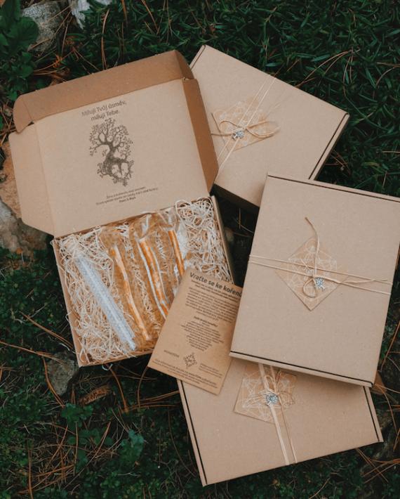 dárková krabička yoni na Vaše produkty